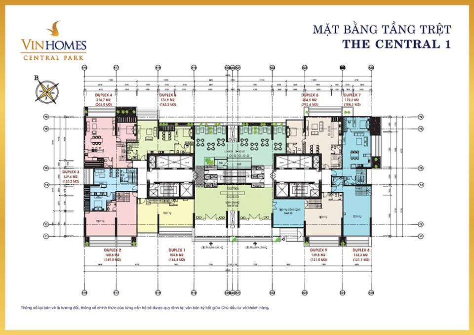 mat bang vinhomes central park central1 1