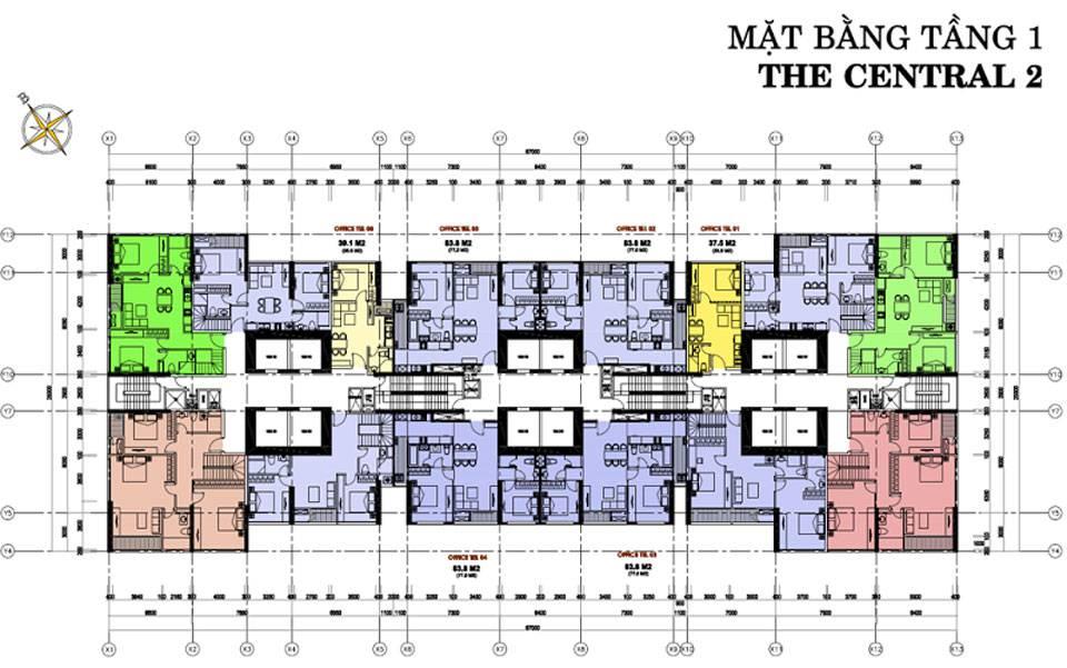 mat bang vinhomes central park central2 2