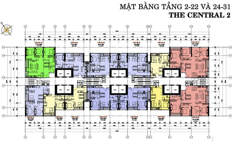 mat bang vinhomes central park central2 3