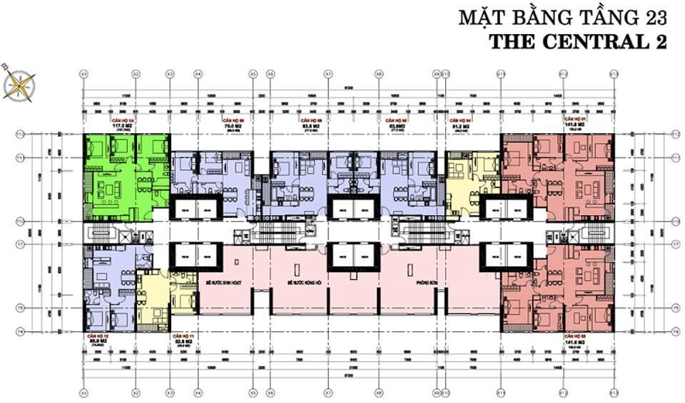 mat bang vinhomes central park central2 4