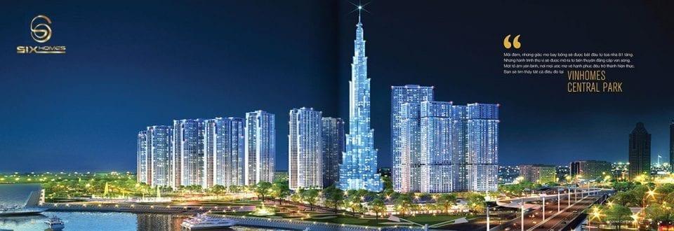 Tổng quát dự án cho thuê căn hộ vinhomes