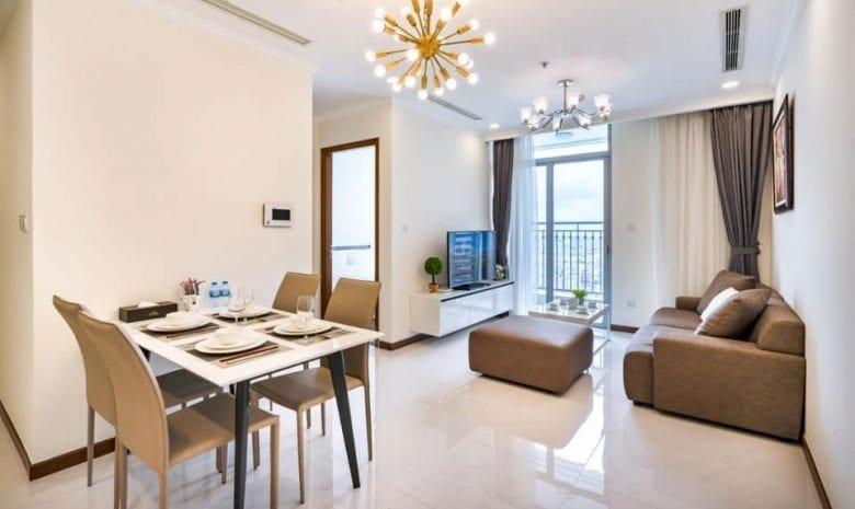 thuê căn hộ vinhomes 1 phòng ngủ landmark plus
