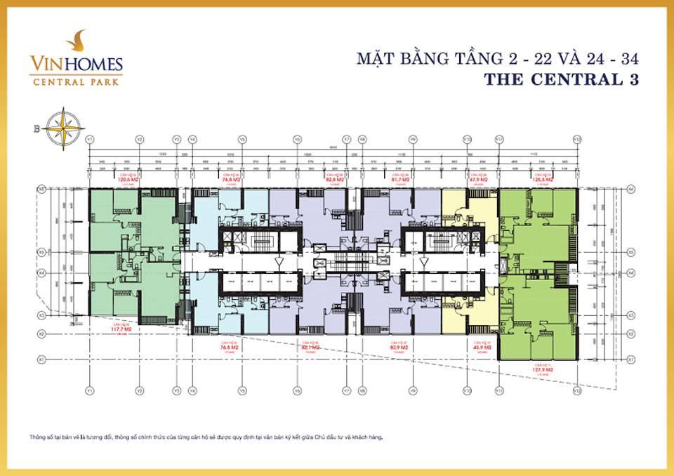 mat bang vinhomes central park central3 1