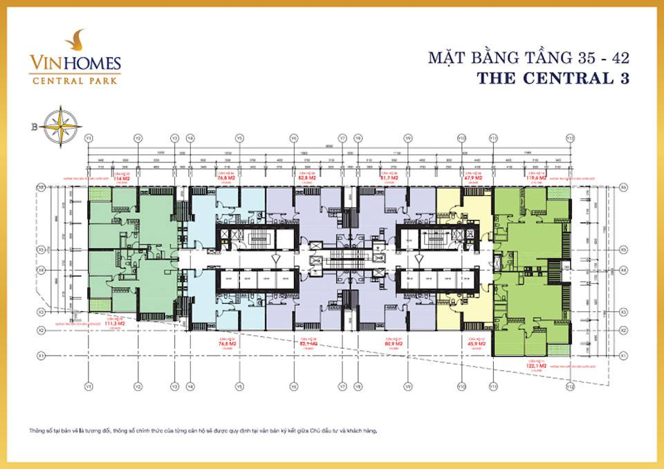 mat bang vinhomes central park central3 3
