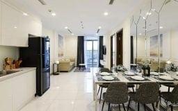 thuê căn hộ vinhomes central park 1 phòng ngủ tòa landmark 3