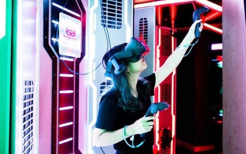 Trải nghiệm game thực tế ảo tại Skyview Landmark 81