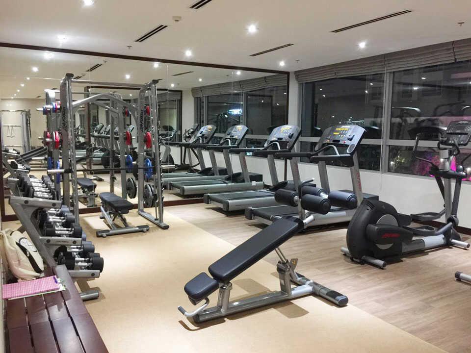 Phòng Gym với đầy thiết bị hiện đại mới nhất