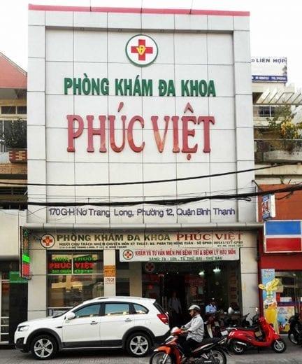 Phòng Khám đa khoa Phúc Việt
