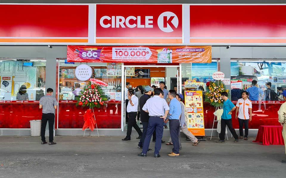 Cửa hàng tiện lợi Circle K Bình thạnh