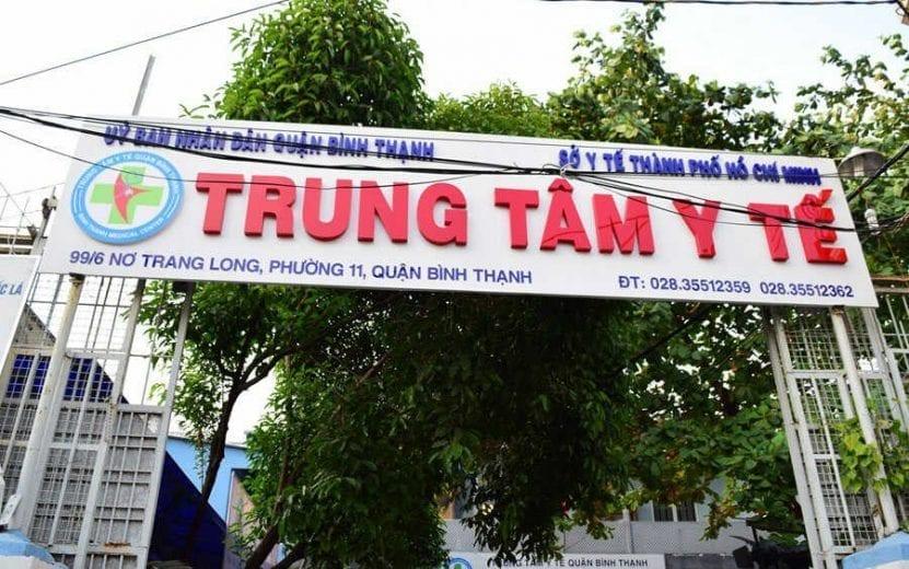trung tâm y tế quận Bình Thạnh