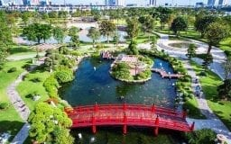 công viên vinhomes central park