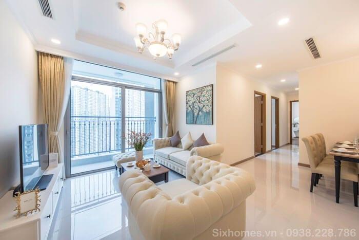 Thuê căn hộ Vinhomes ngắn hạn theo ngày