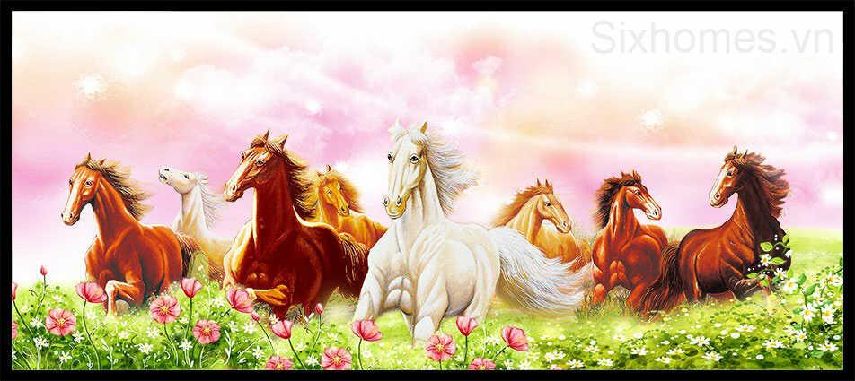 Tranh ngựa mã đáo thành công